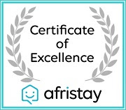 Afristay Certificate of excellence 2019